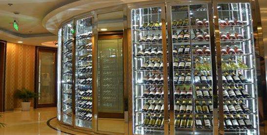 不锈钢酒柜定制